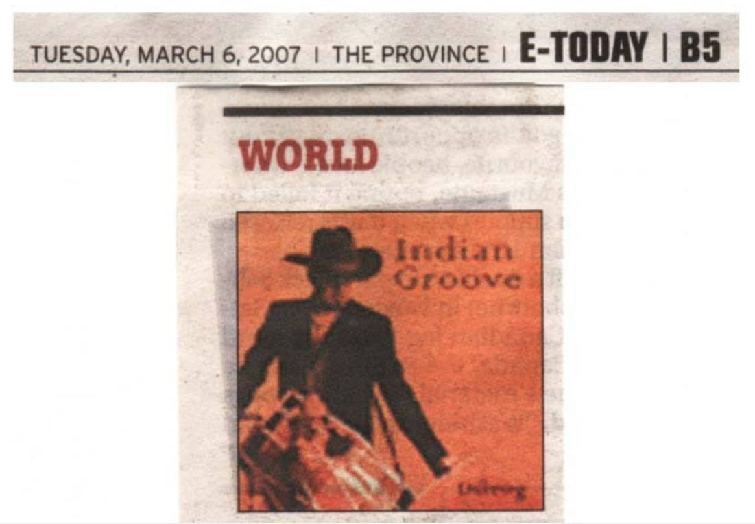 The Province – March 6th, 2007